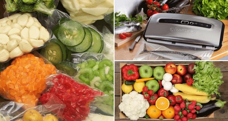 máquina de vacío para alimentos
